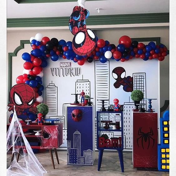 festa homem aranha Baby