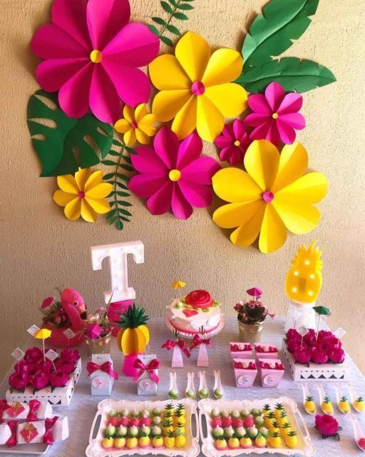 Festa Luau Simples