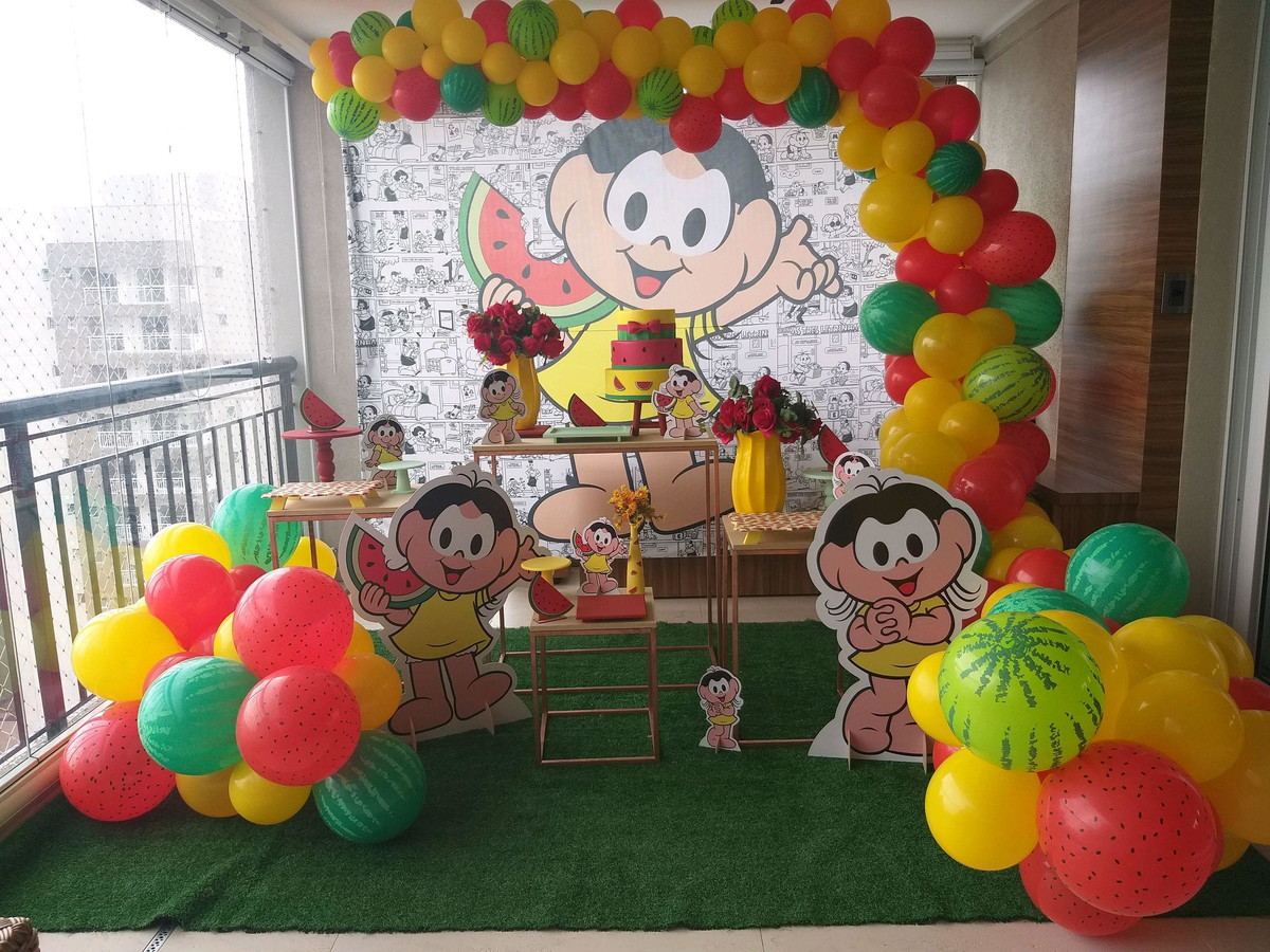festa magali Infantil