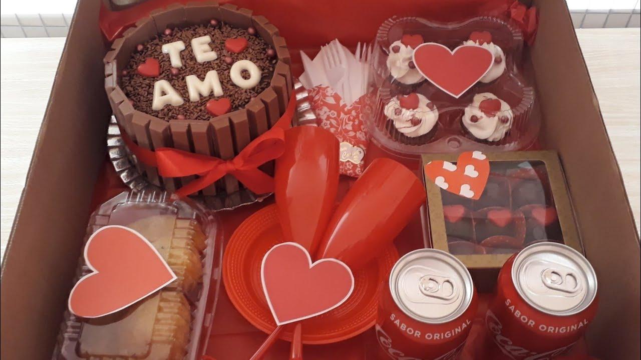 festa na caixa Dia dos Namorados