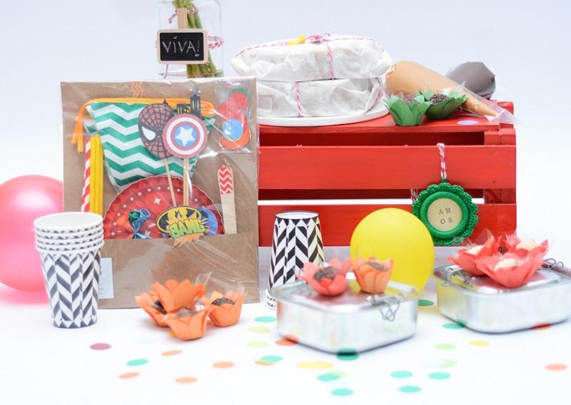 festa na caixa Infantil