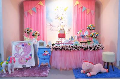 festa unicornio Baby
