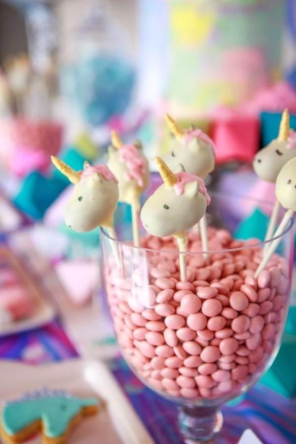 festa unicornio Doces