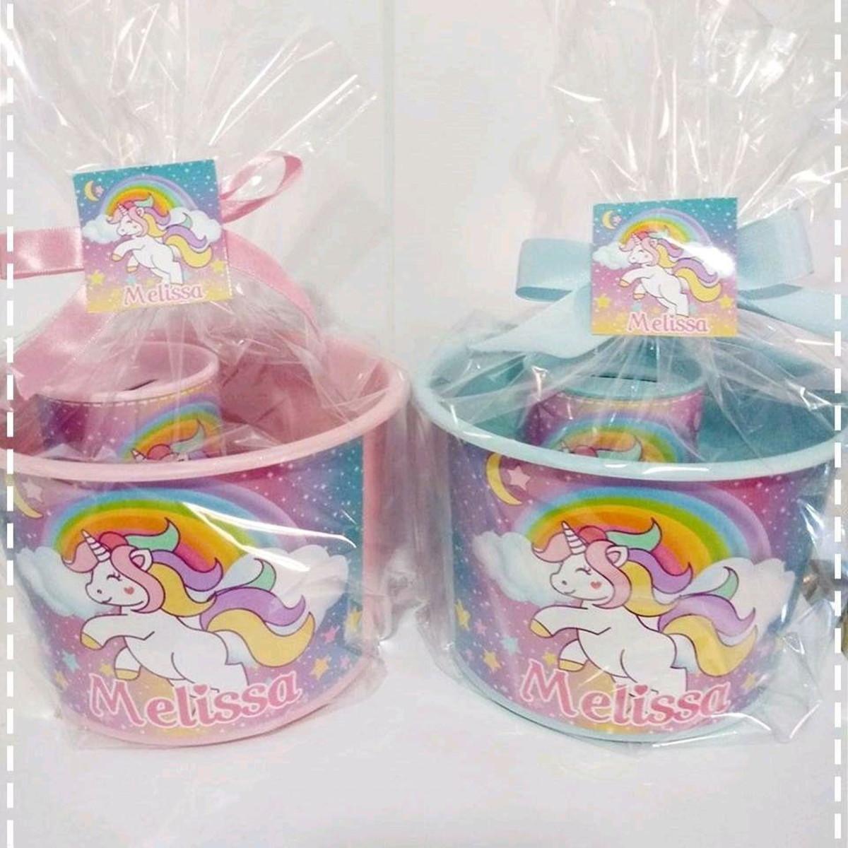festa unicornio Lembrancinhas