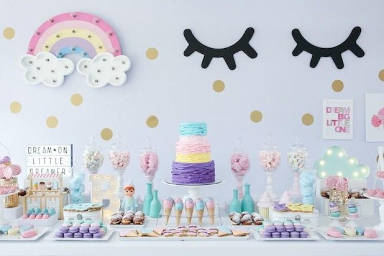 festa unicornio Simples
