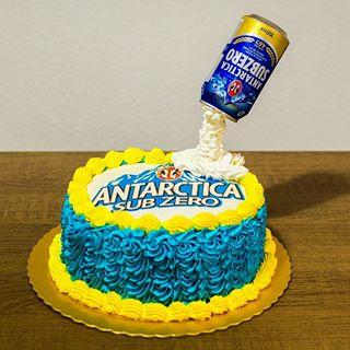 bolo antarctica Papel Arroz