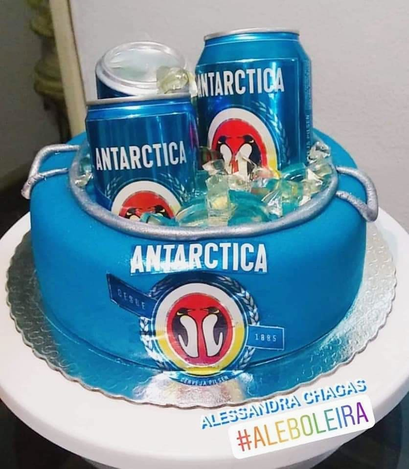 bolo antarctica Pasta Americana