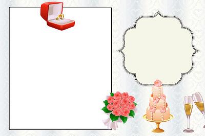 convite de noivado Editável