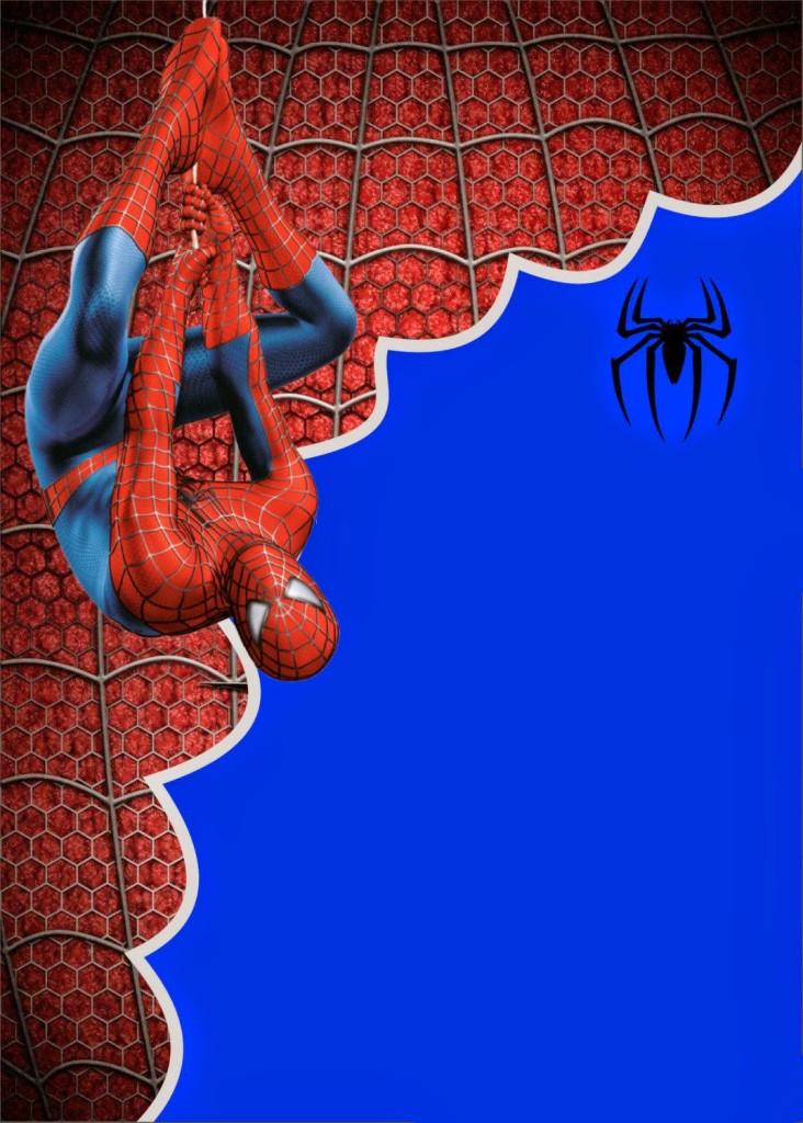 Convite Homem-Aranha Virtual