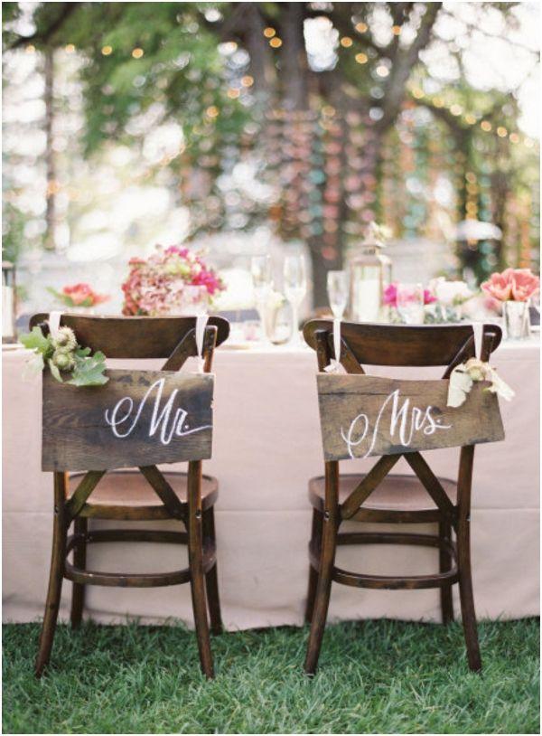 decoração de casamento simples Rústico