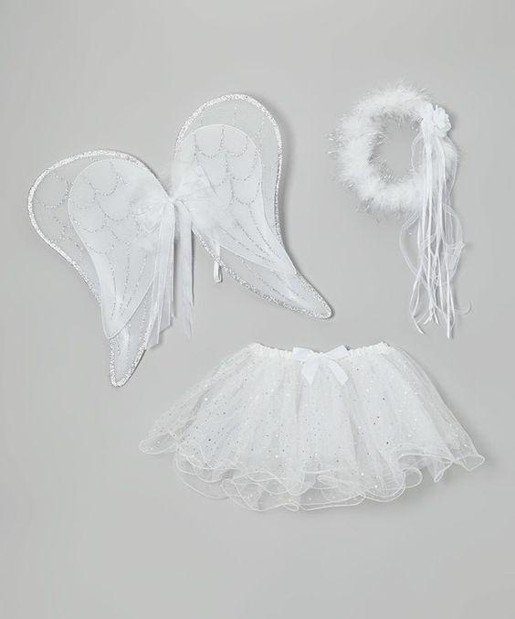 fantasia de anjo Improvisada