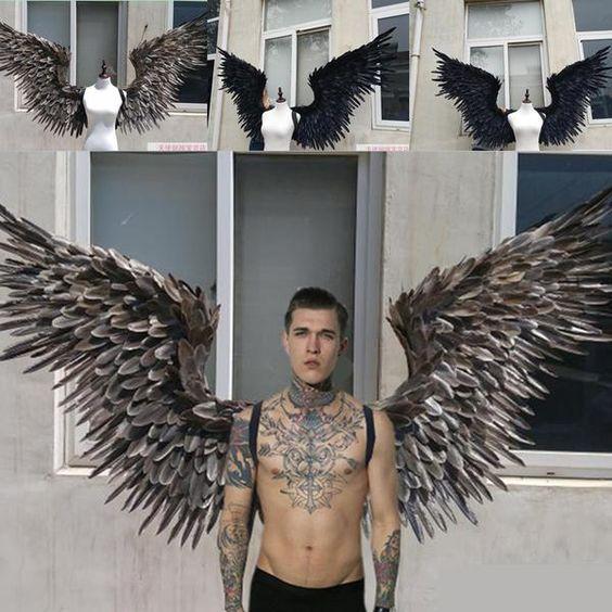 fantasia de anjo Masculina