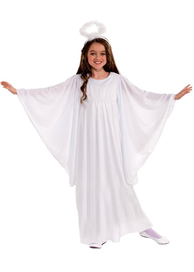 fantasia de anjo Simples