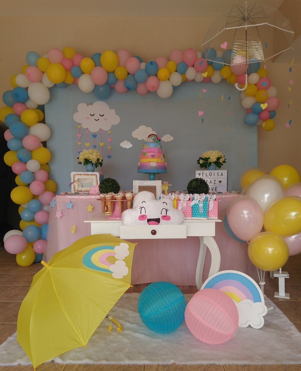 festa chuva de amor Infantil