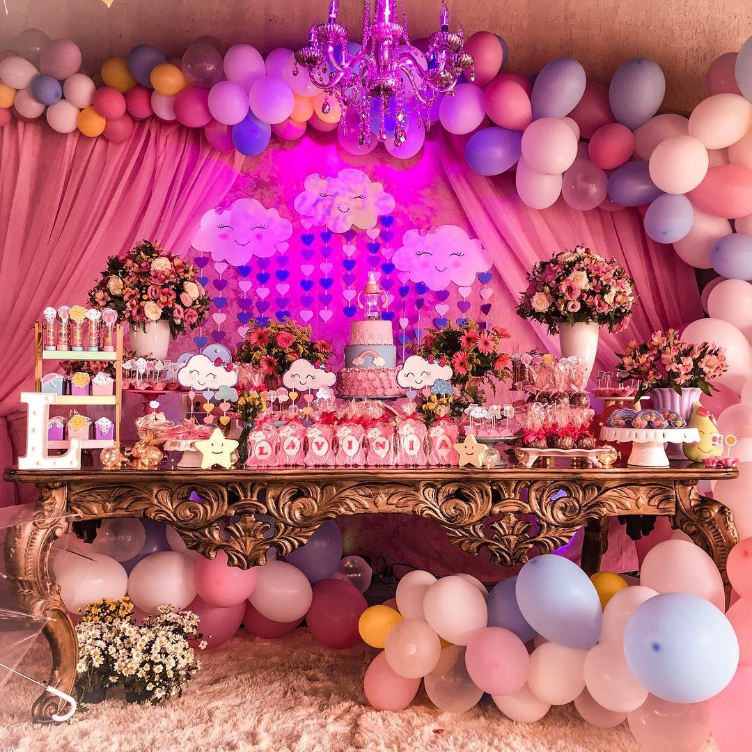 festa chuva de amor Luxo