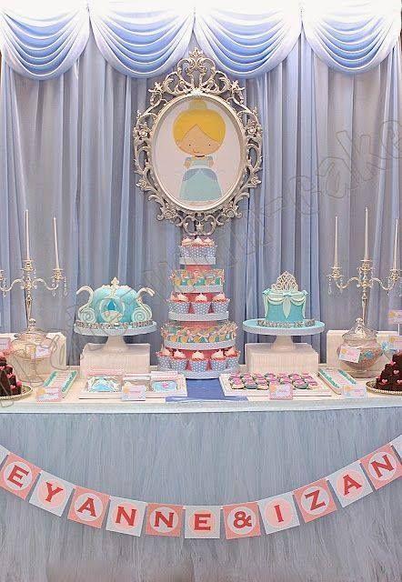festa cinderela Baby