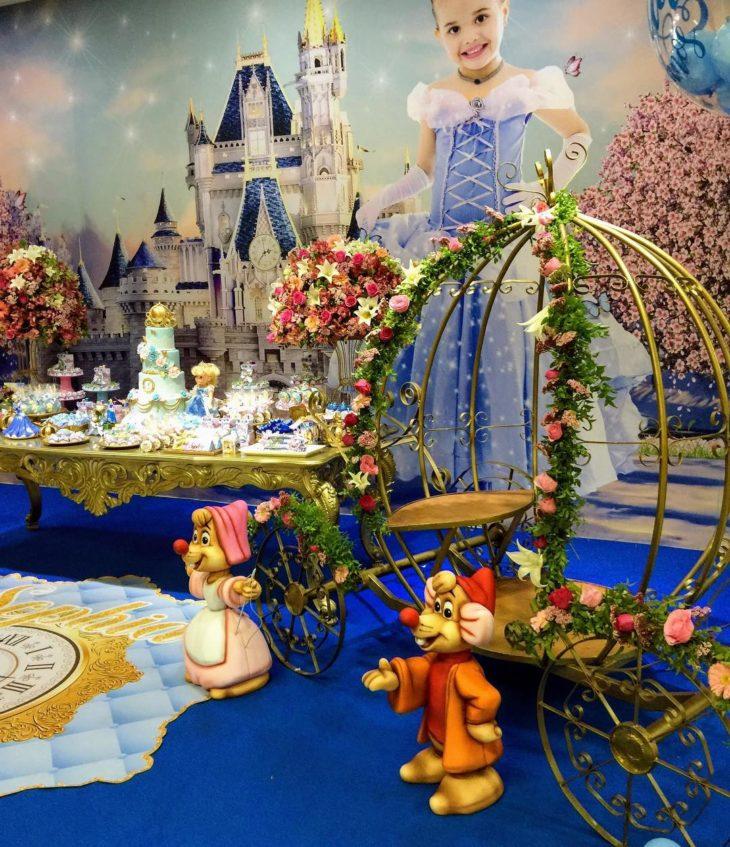 festa cinderela Luxo