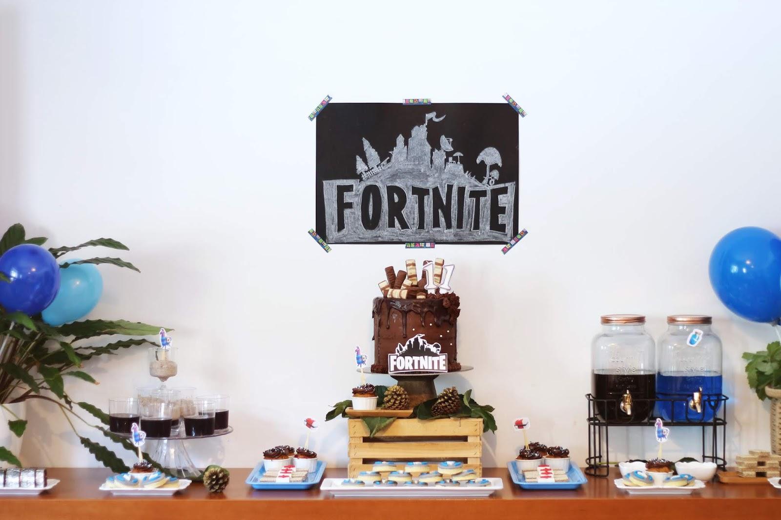 festa fortnite Simples
