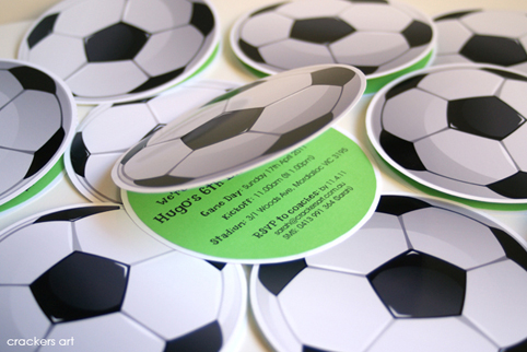 festa futebol Convite