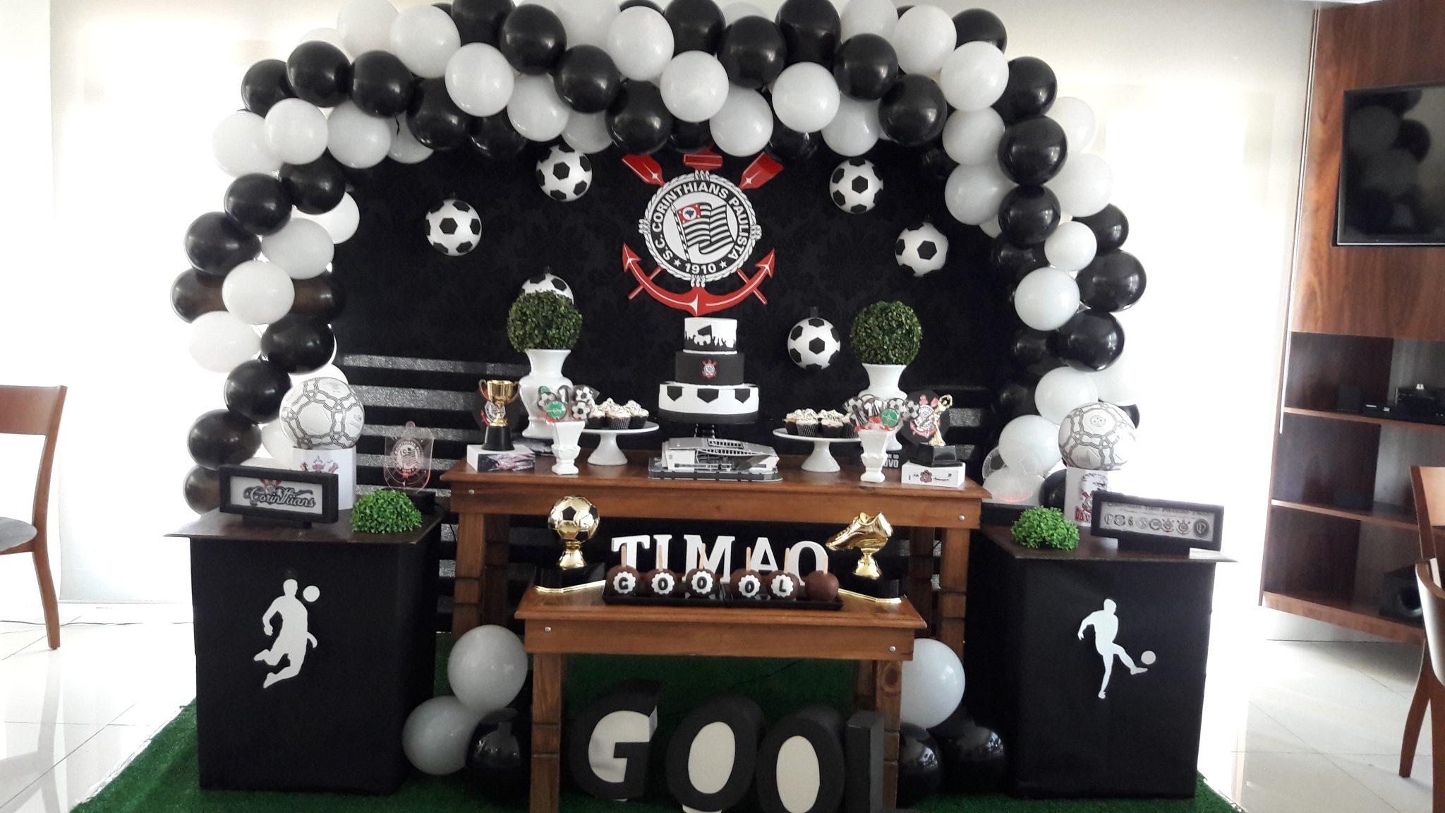 festa futebol Corinthians