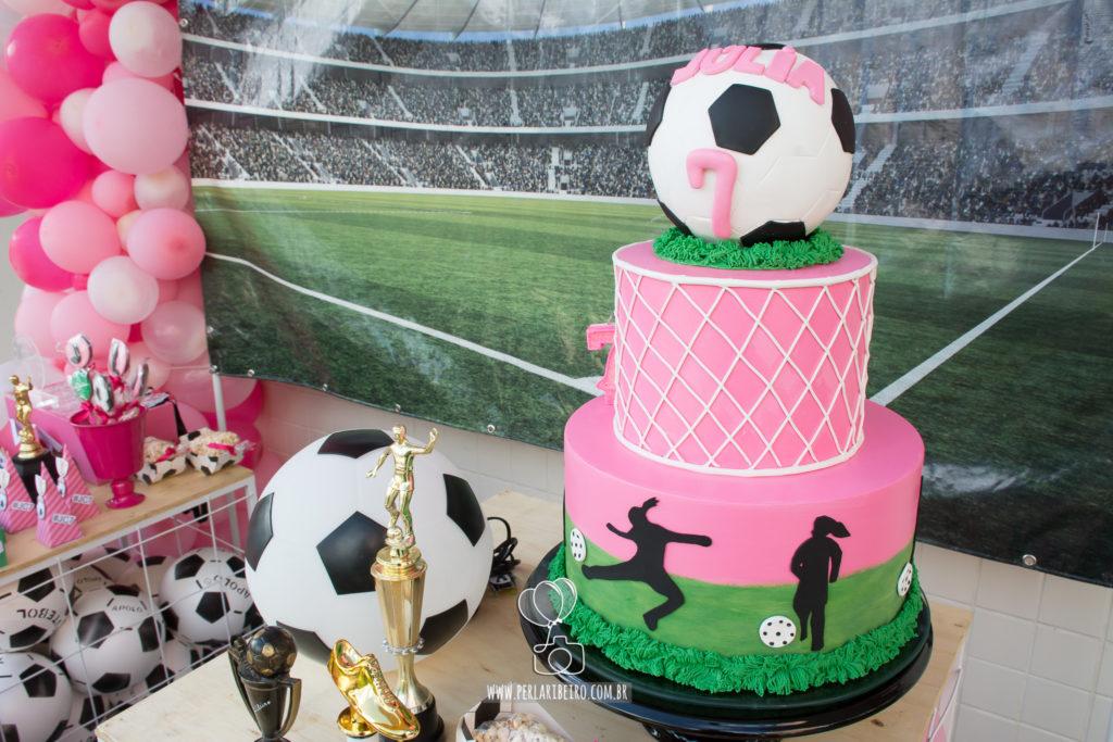 festa futebol Feminina