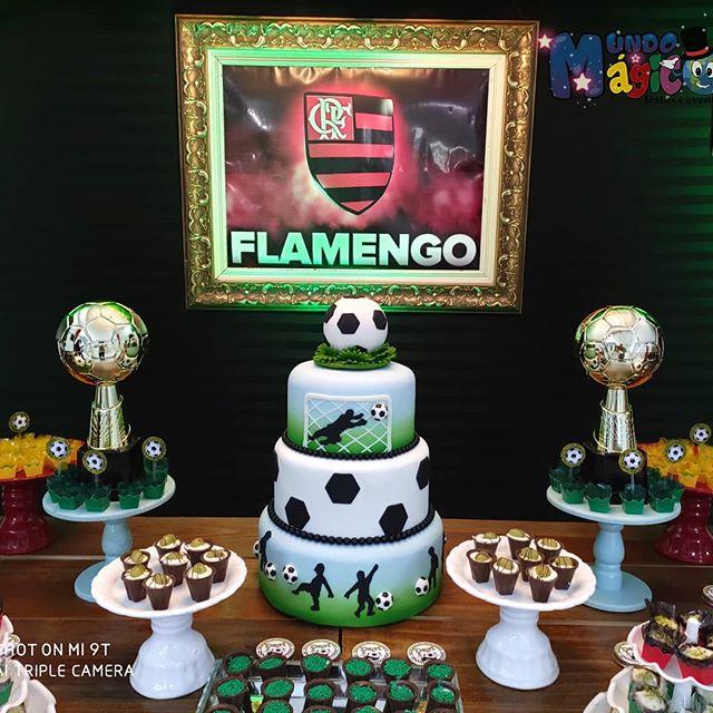 festa futebol Flamengo