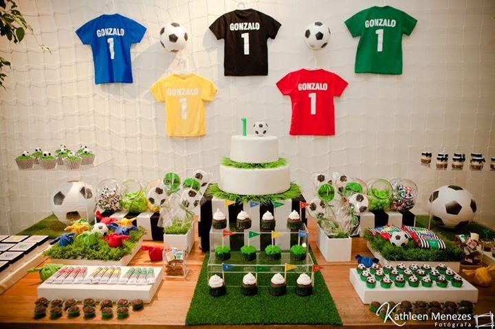 festa futebol Infantil