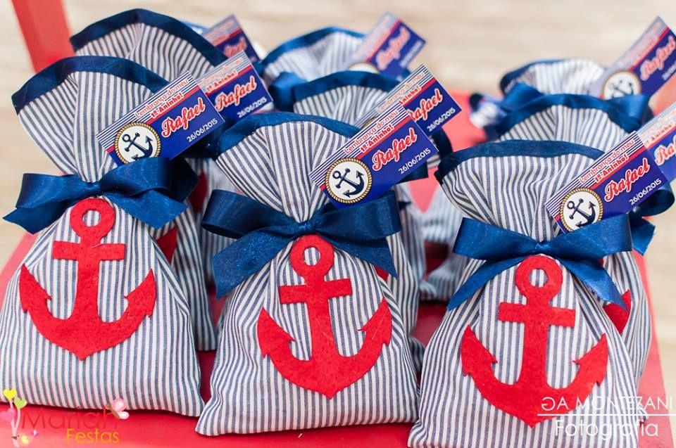 Lembrancinha Festa Marinheiro