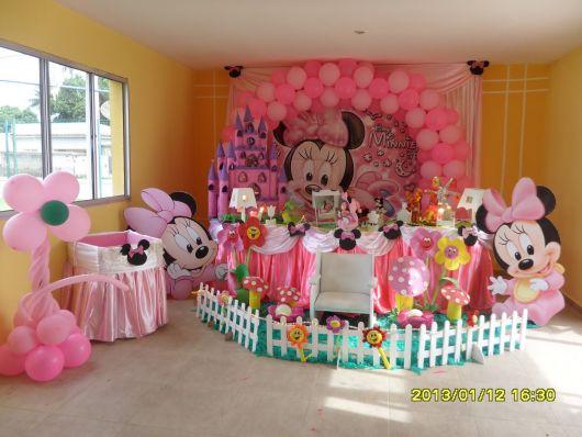 festa minnie Baby