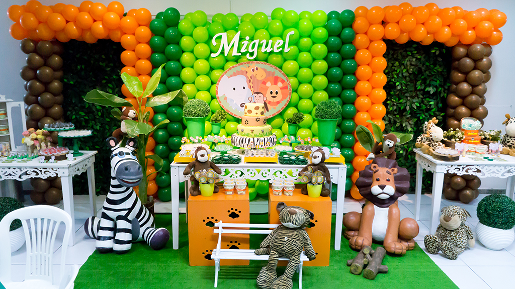 festa safari Baby