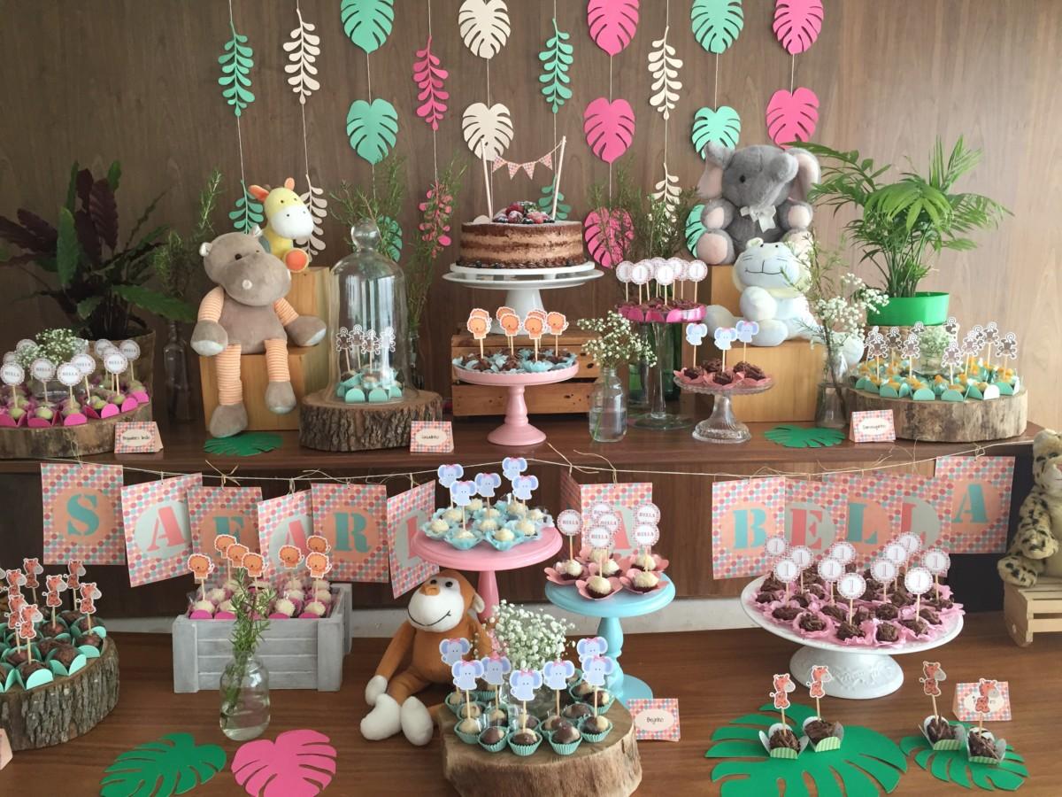 festa safari Rosa