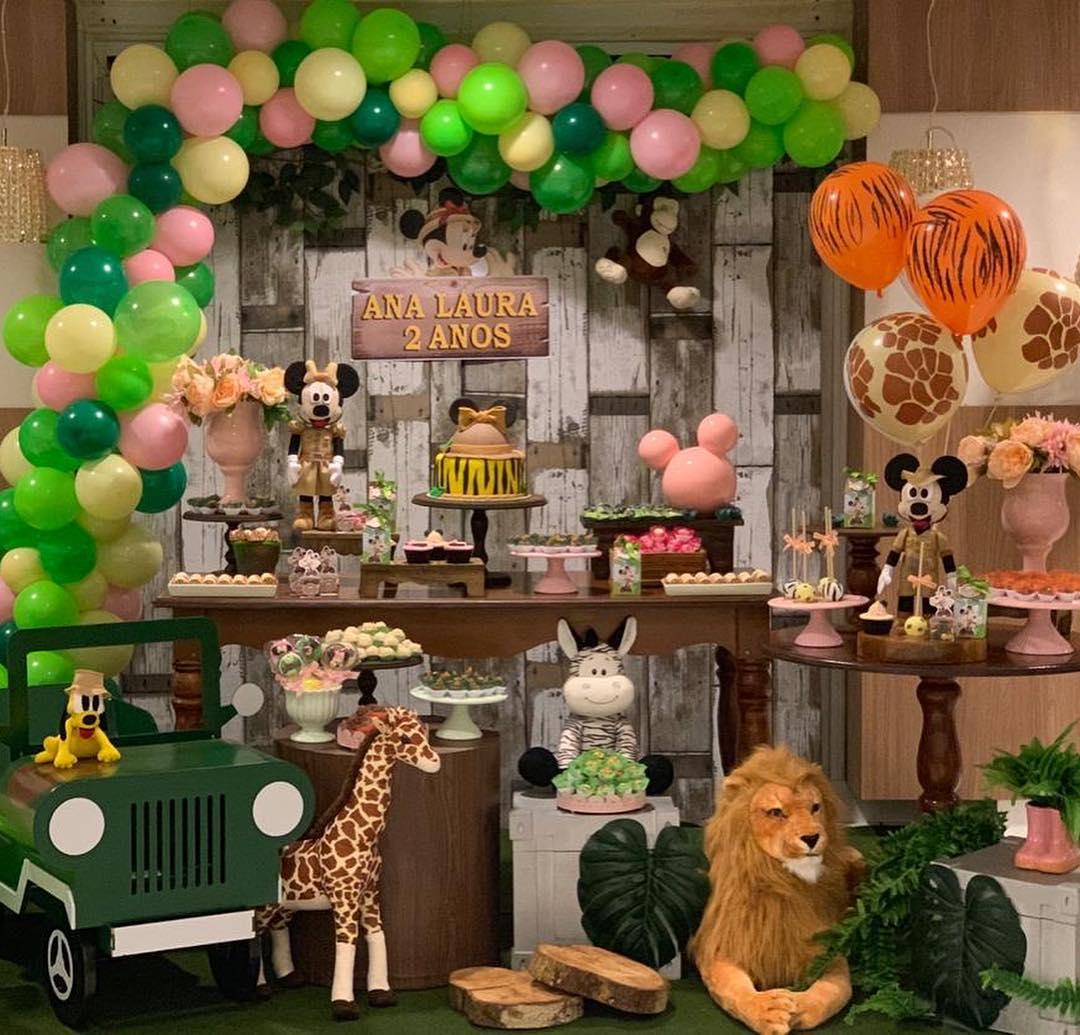 festa safari Rústica