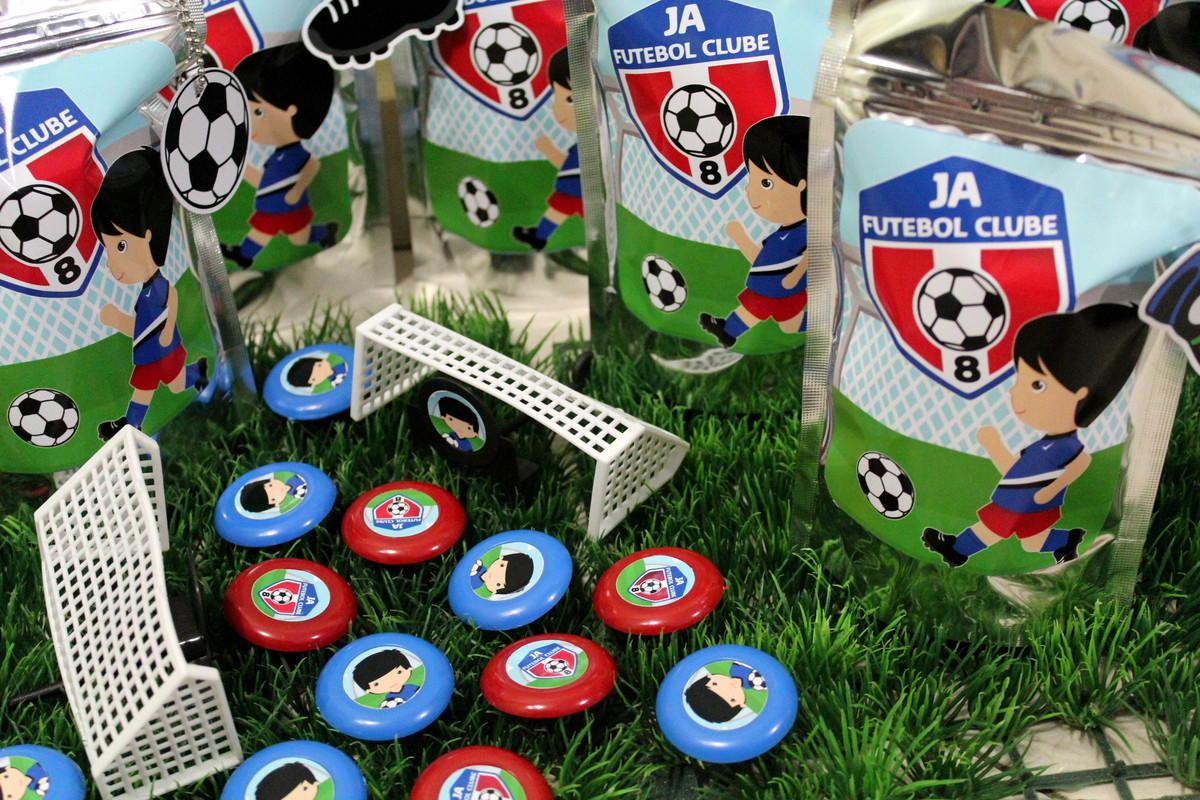 lembrancinha futebol Botão