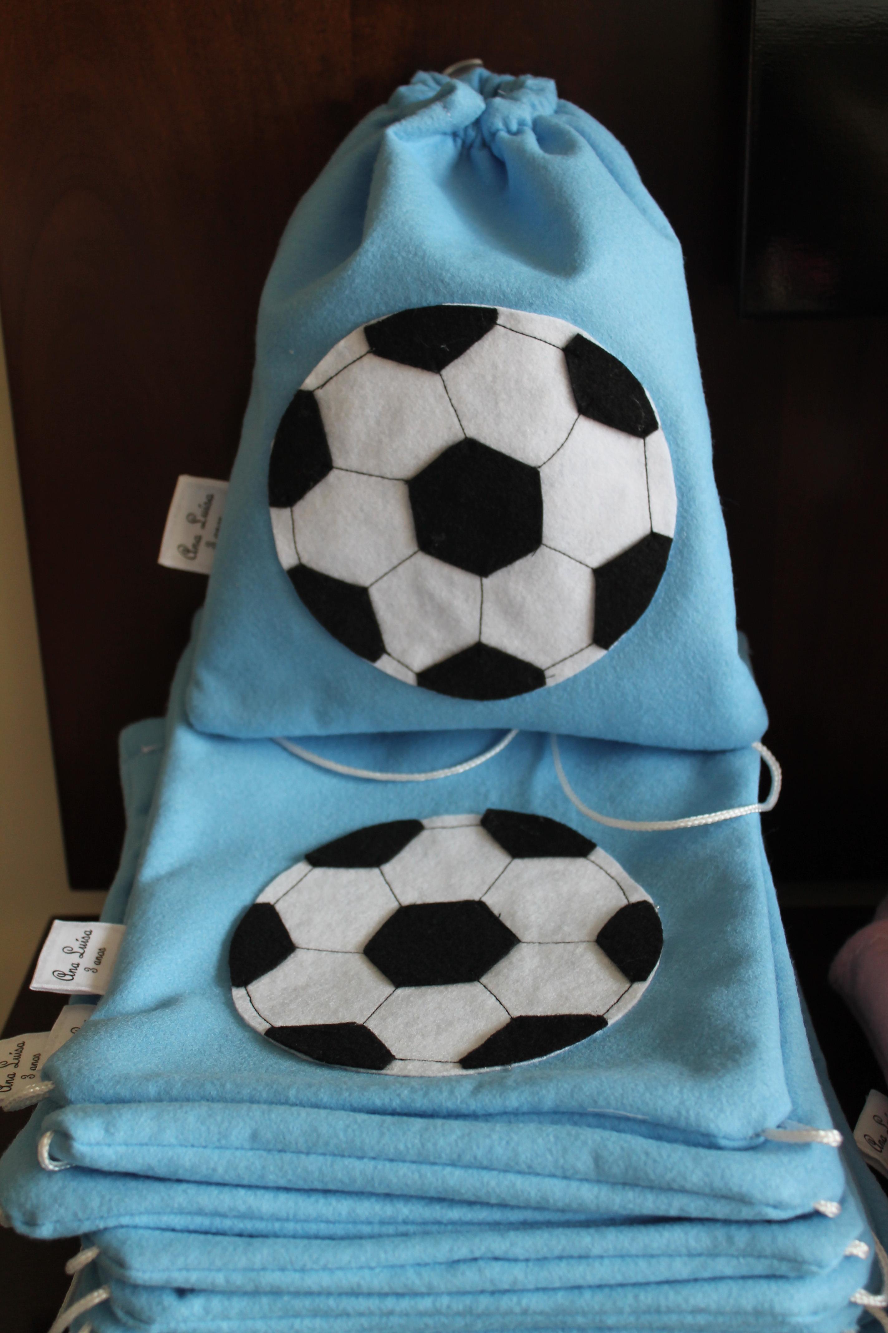 lembrancinha futebol Feltro
