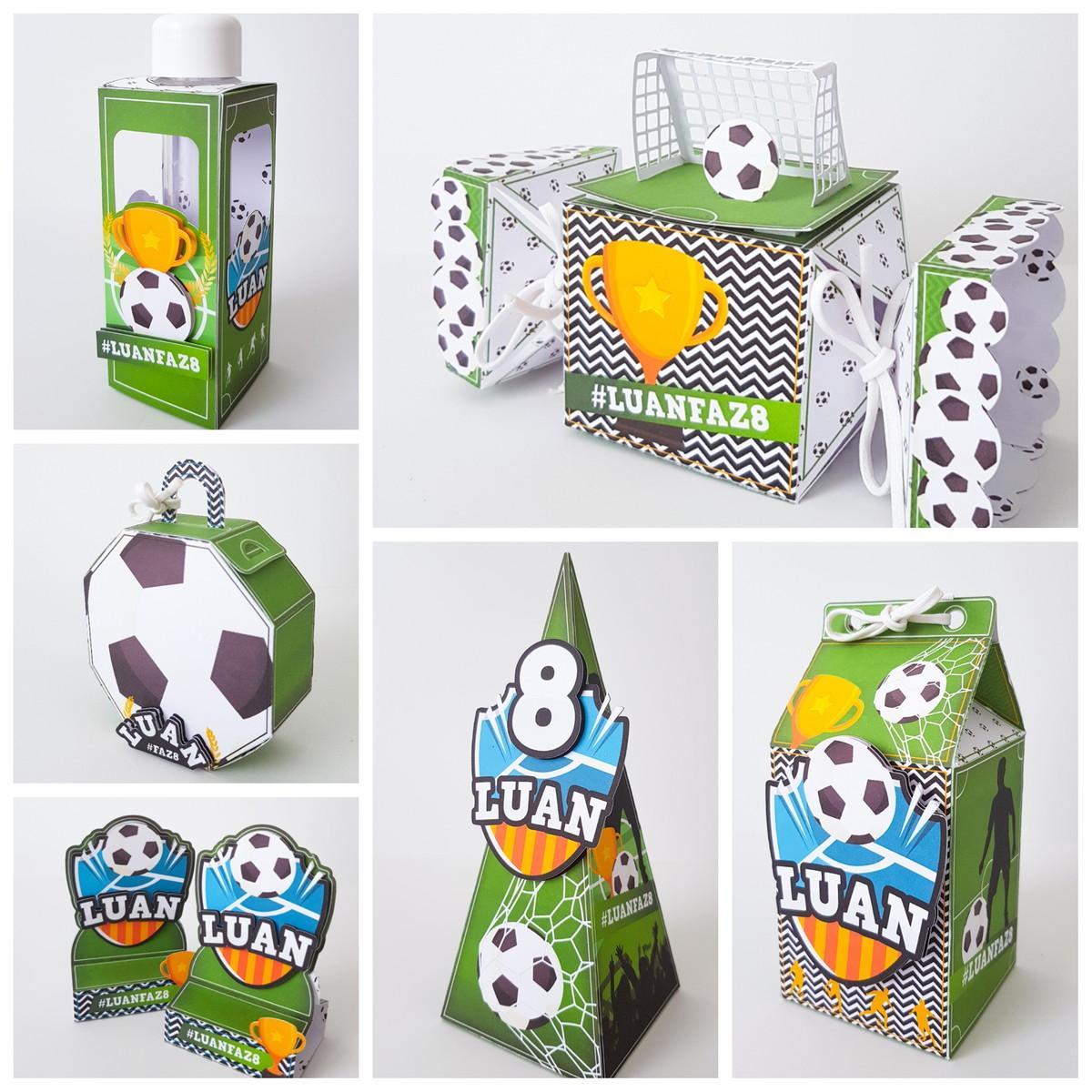 lembrancinha futebol Kit