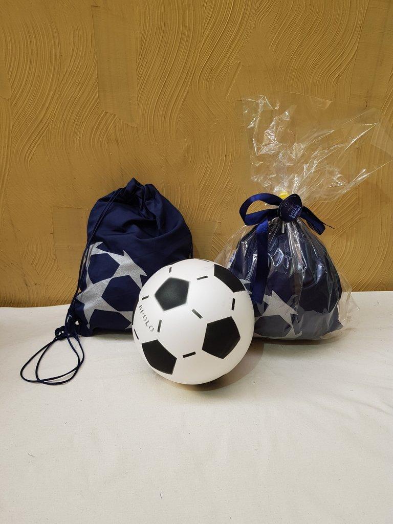 lembrancinha futebol Mochila