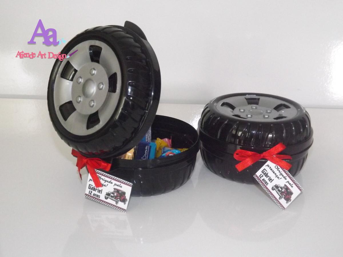 Lembrancinha Hot Wheels Roda