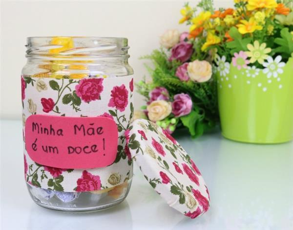 lembrancinha simples Dia das Mães