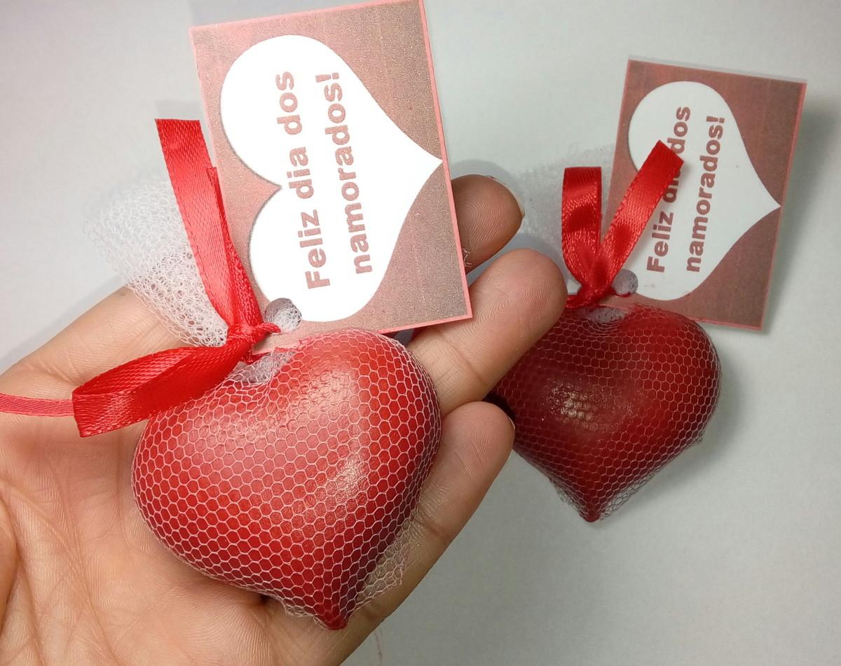 lembrancinha simples Dia dos Namorados