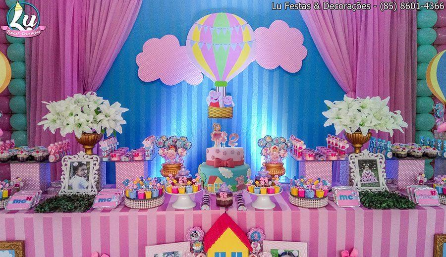 Festa Peppa Pig Princesa