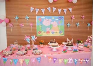 Festa Peppa Pig Simples