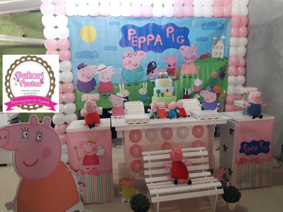 Festa Peppa Pig Decoração