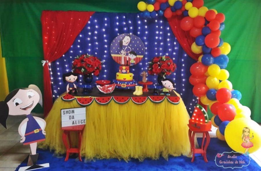 festa show da luna Luxo
