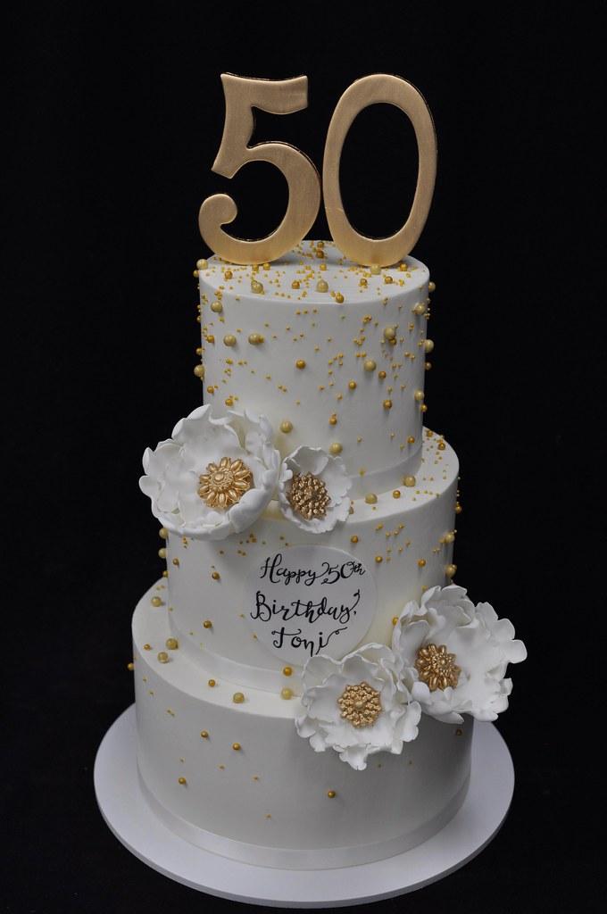 bolo 50 anos Luxo