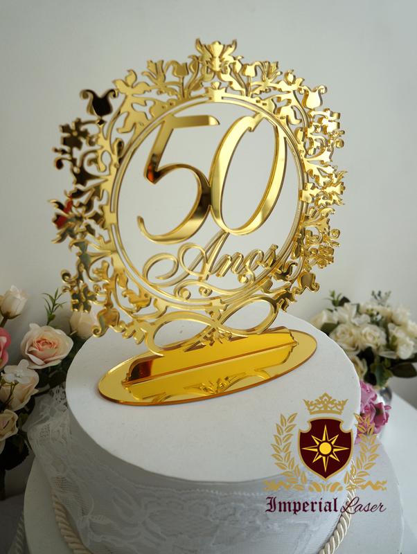 bolo 50 anos Topo