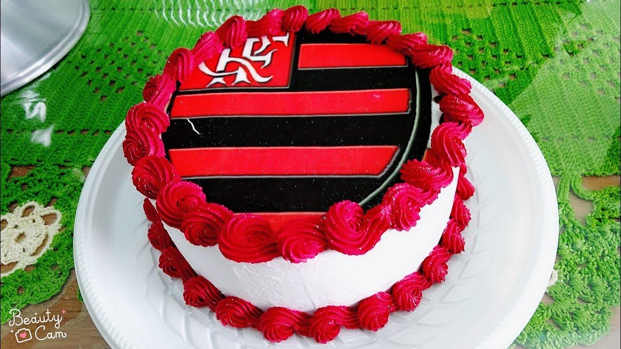Bolo Com Papel Arroz Do Flamengo
