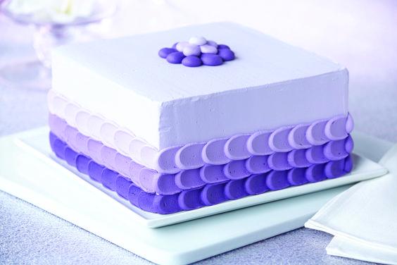 bolo de casamento quadrado 1 andar