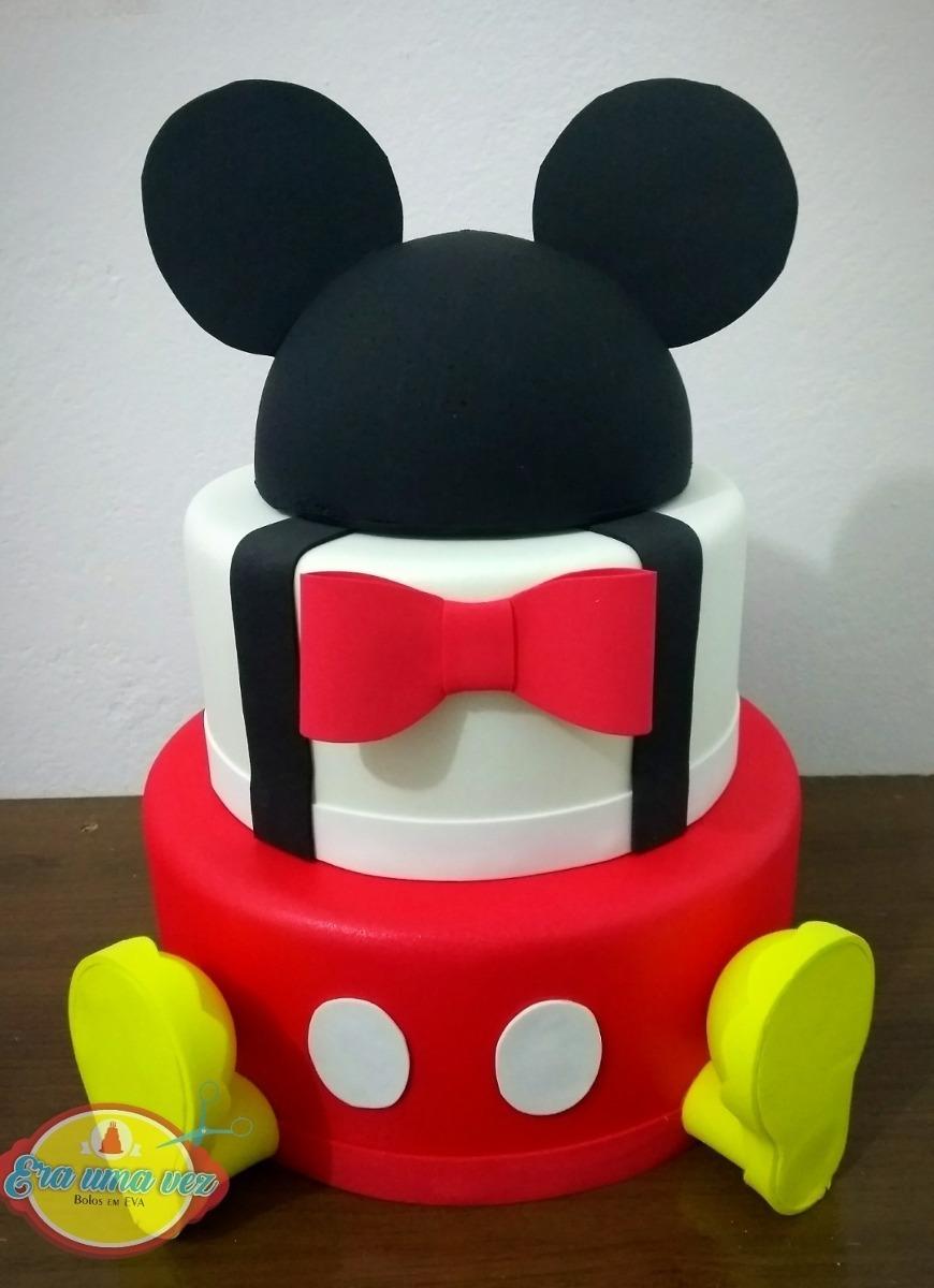 Bolo Fake Mickey E.V.A.