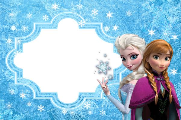 convite frozen Grátis