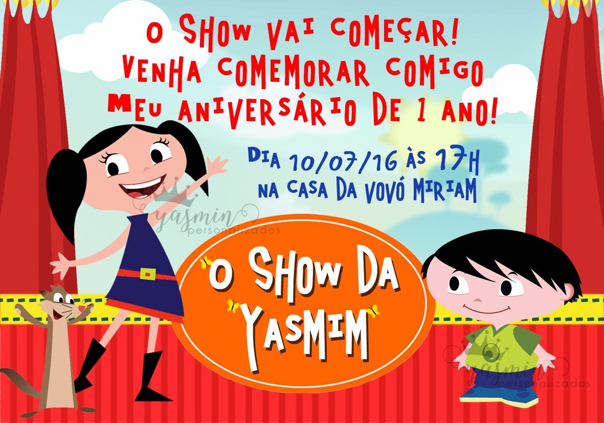 convite show da Luna Online